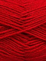 Fiber Content 55% Virgin Wool, 5% Cashmere, 40% Acrylic, Brand Ice Yarns, Dark Red, Yarn Thickness 2 Fine  Sport, Baby, fnt2-47159