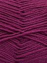 Fiber Content 55% Virgin Wool, 5% Cashmere, 40% Acrylic, Purple, Brand ICE, Yarn Thickness 2 Fine  Sport, Baby, fnt2-47160
