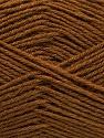 Fiber Content 60% Merino Wool, 40% Acrylic, Brand ICE, Brown, Yarn Thickness 2 Fine  Sport, Baby, fnt2-47164
