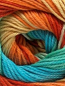 Fiber Content 100% Mercerised Cotton, Yellow, Turquoise, Orange, Mint Green, Brand ICE, Yarn Thickness 2 Fine  Sport, Baby, fnt2-47197