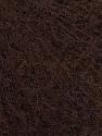 Fiber Content 5% Merino Wool, 41% SuperKid Mohair, 23% Polyamide, 23% Viscose, 2% Elastan, Brand Ice Yarns, Dark Brown, Yarn Thickness 1 SuperFine  Sock, Fingering, Baby, fnt2-47435