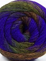 Fiber Content 90% Acrylic, 10% Polyamide, Purple, Navy, Brand Ice Yarns, Dark Green, Brown, Yarn Thickness 4 Medium  Worsted, Afghan, Aran, fnt2-48016