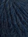 Fiber Content 50% Merino Wool, 25% Acrylic, 25% Alpaca, Navy, Brand ICE, Yarn Thickness 6 SuperBulky  Bulky, Roving, fnt2-48180