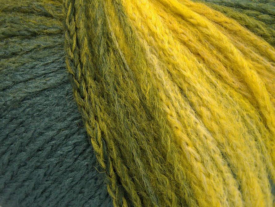 Air Wool Color Yellow Grey Green At Ice Yarns Online Yarn