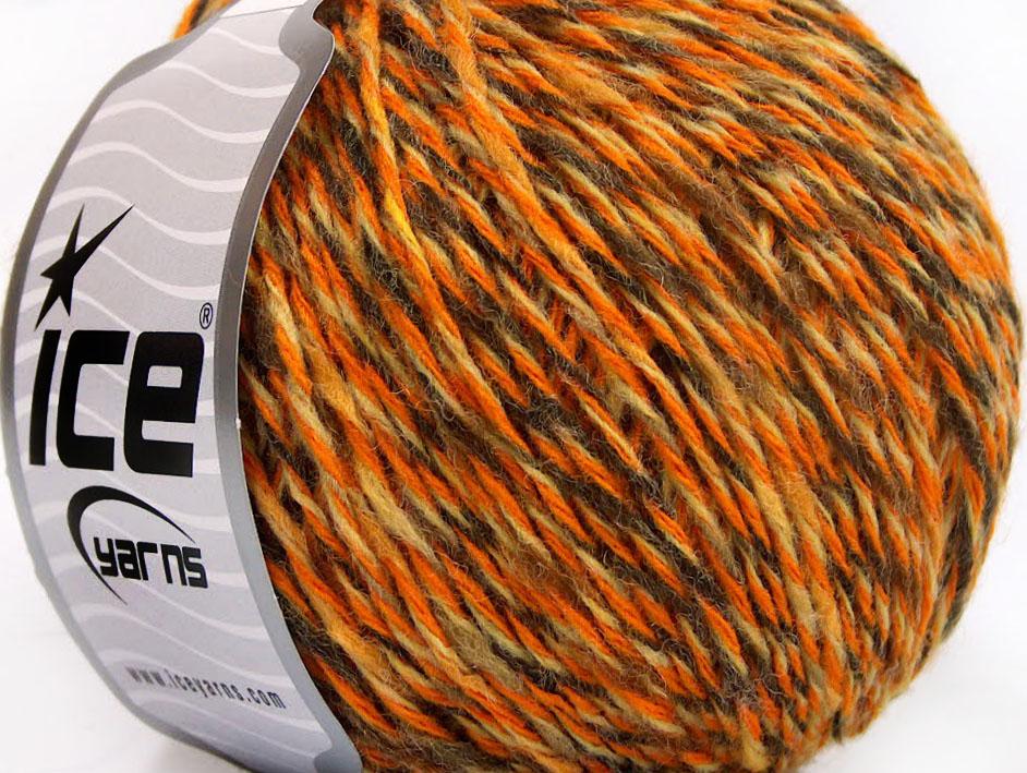 Wool Light Orange Cream Camel, Limited Edition Fall-Winter Yarns