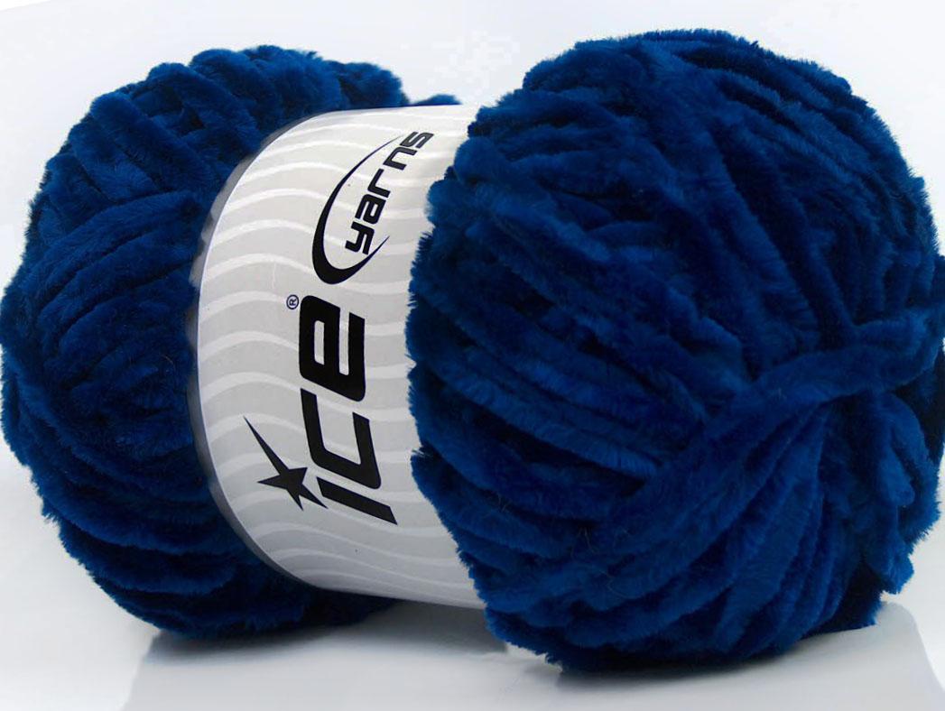 Velvet Chenille Navy, Chenille Yarns | Ice Yarns Online Yarn