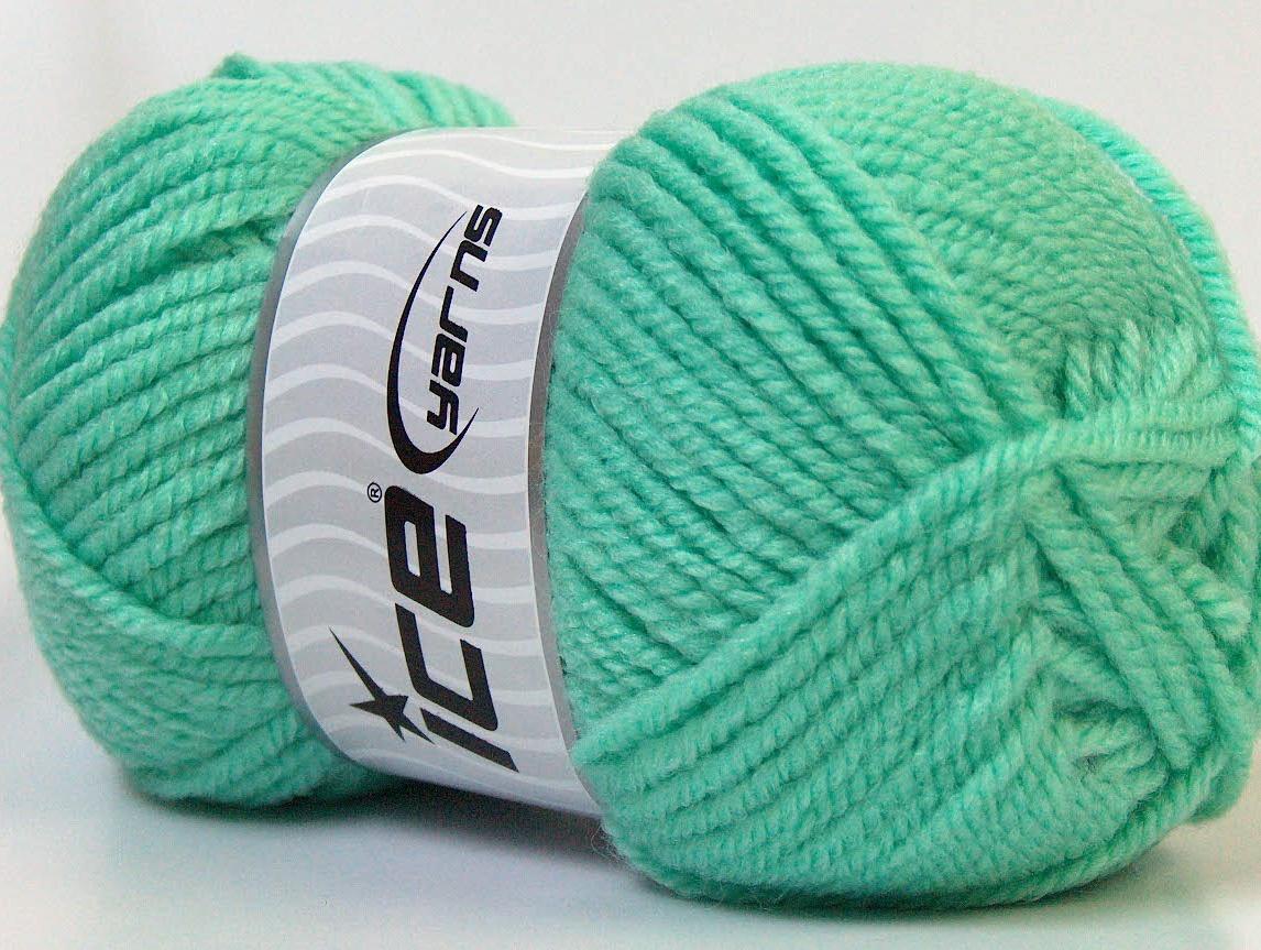 Bermuda Wool Mint Green Bulky