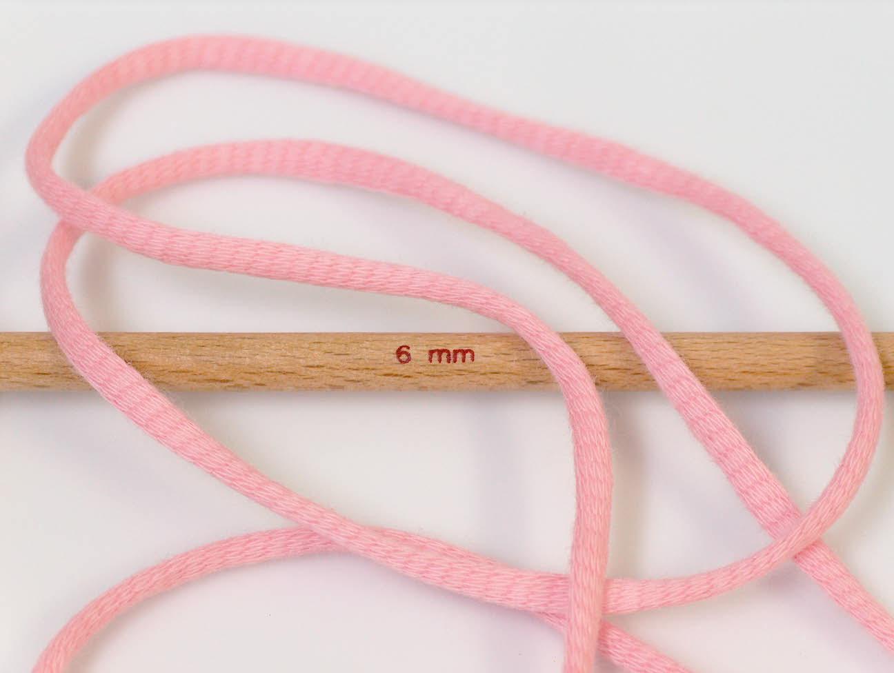 Tube Cotton Pink Siūlai Vasarai Mezgimo Kilpa