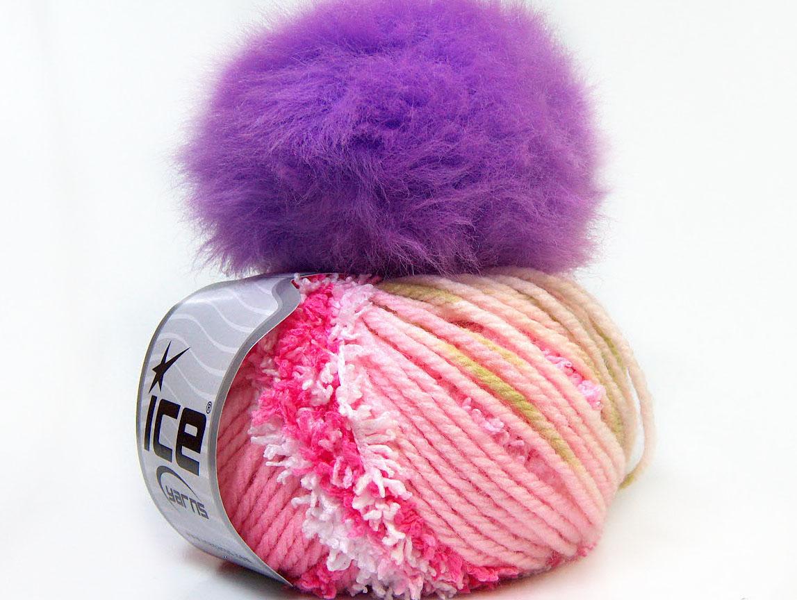 fancy hat abat jour rose lilas fils pour bonnets balaine laine. Black Bedroom Furniture Sets. Home Design Ideas