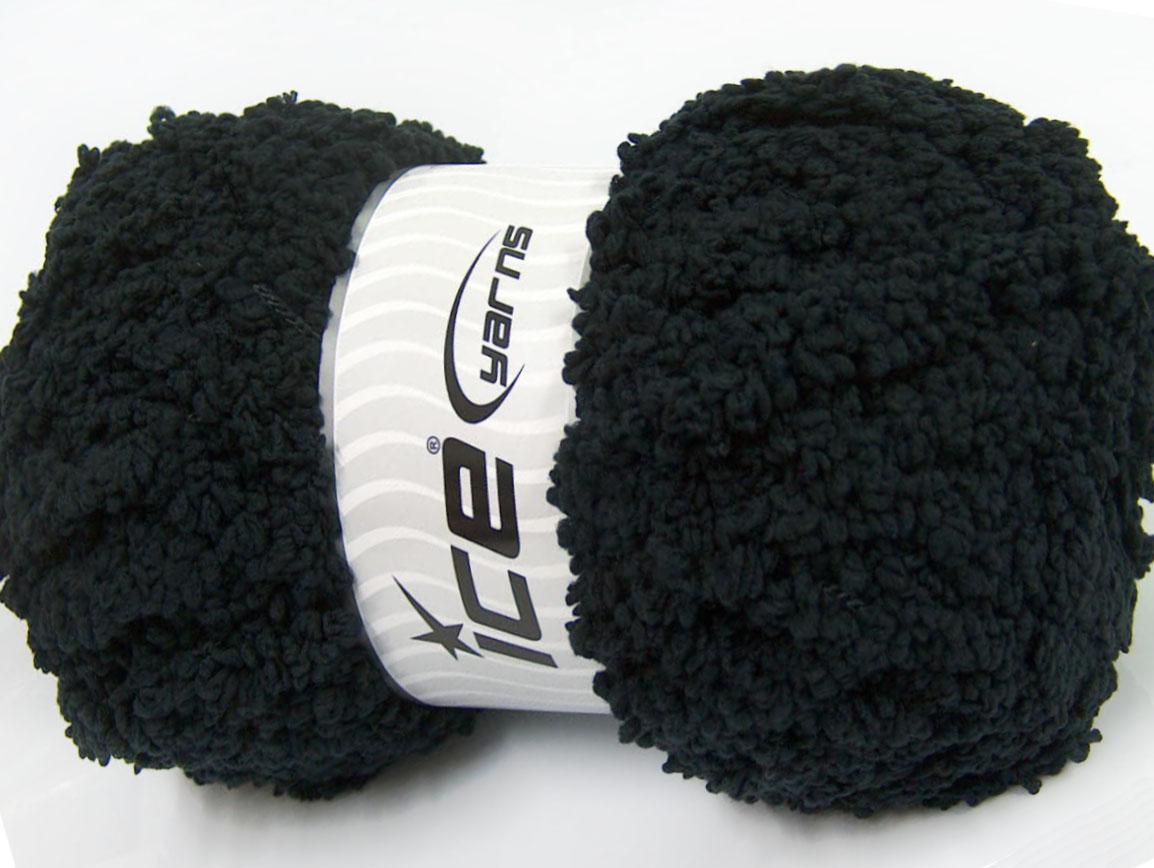 Μικρό μαύρο Πούφι